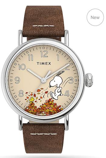 Timex Standard x Peanuts Featuring Snoopy Autumn - new watch alert