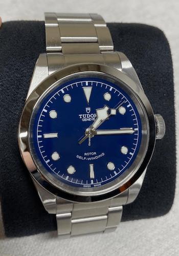 Tudor Black Bay 41 blue dial chrono24