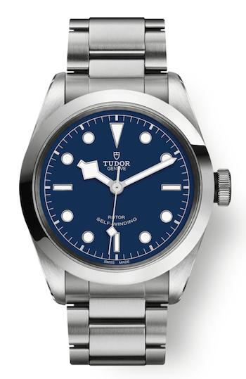Tudor Black Bay 41 on a steel bracelet