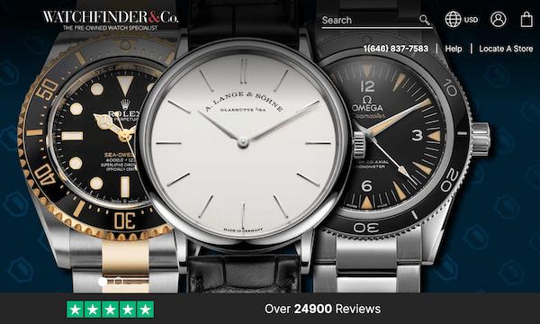 Pre-owned watch market - Watchfinder.com