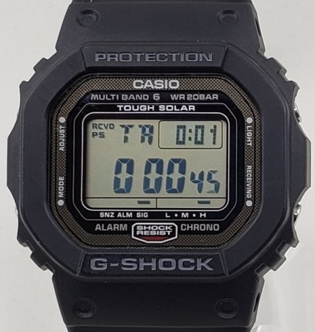 G-SHOCK functions - countdown timer