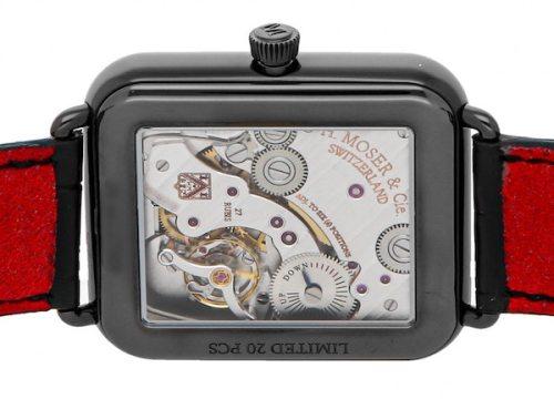 Apple watch alternative - Moser caseback