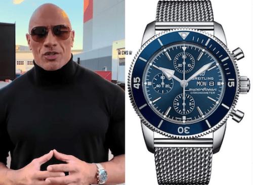 Men's watches - Dwayne Johnson's Breitling