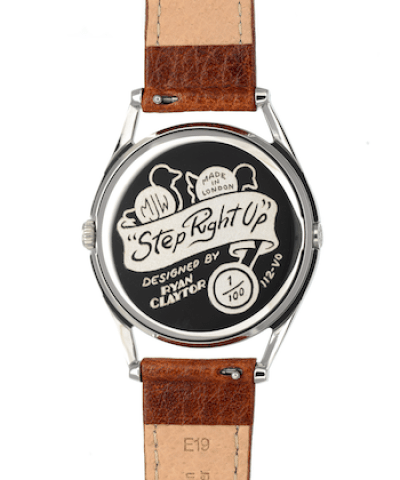 Step Right Up Caseback official