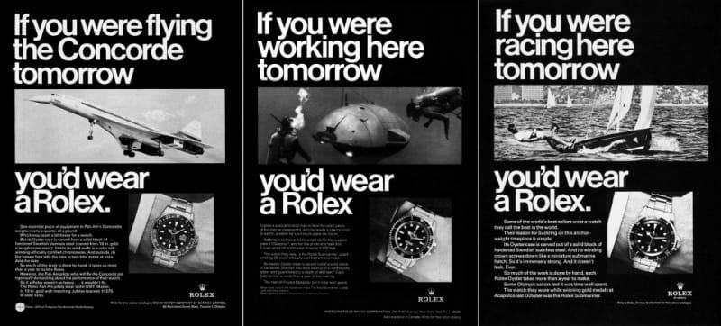 Vintage ad The Truth About the Rolex Explorer