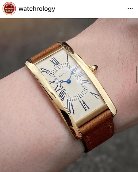 100th Anniversary Cartier Tank Cintrée Limited Edition - new watch alert