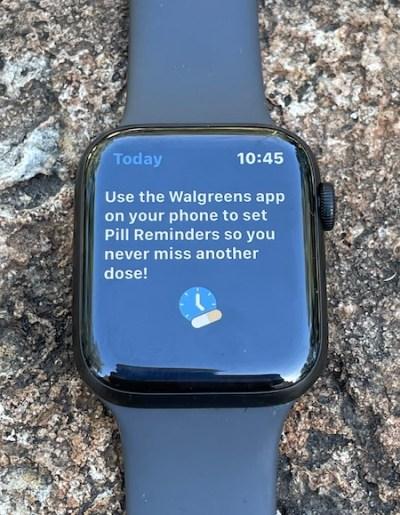 Apple watches save life via Walgreens