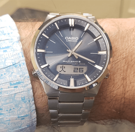 Casio Lineage LCW-M510D - Japanese day display