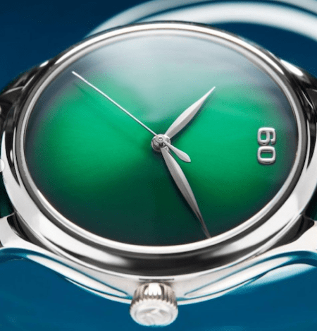 H. Moser & Cie. x Oriental Watch Company 60th Anniversary Special Edition Endeavour Centre Seconds Concept- side