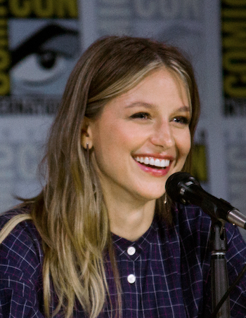 Melissa Benoist smiling (as usual)
