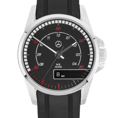 Mercedes versus BMW watches - Actros