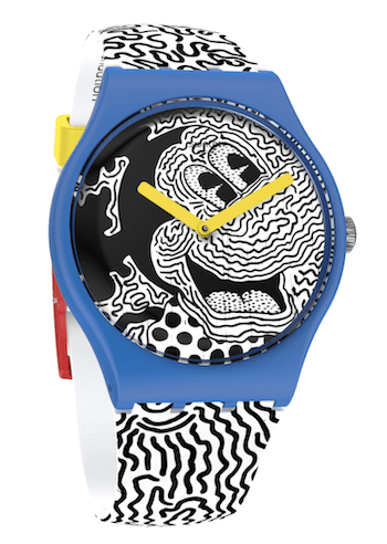 SWATCH X Keith Haring Eclectic Mickey