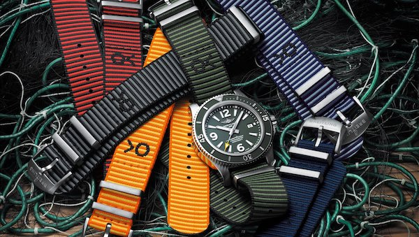 Breitling corporate values - Outerknown NATO straps