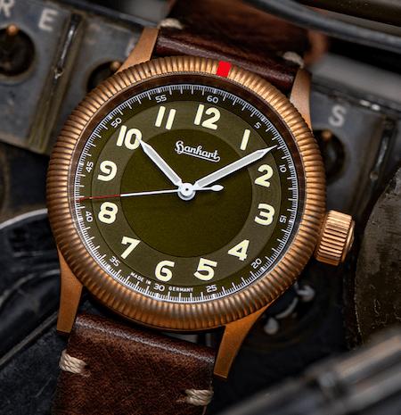 Hanhart Pioneer 1 Bronze - new watch alert