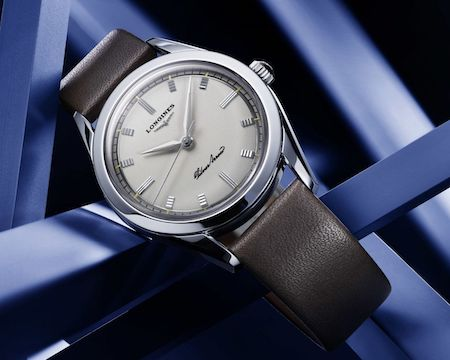 Longines Silver Arrow at rest
