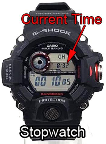 G-SHOCK Rangeman time