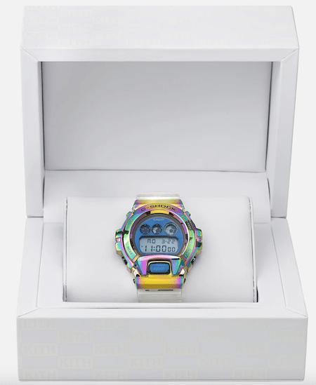 G-SHOCK KITH GM-6900 Rainbow in box
