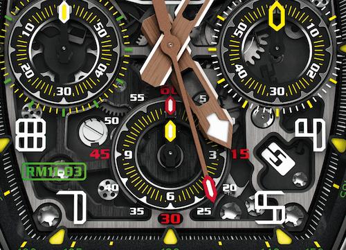 Richard Mille - Shay Belhassen's watch