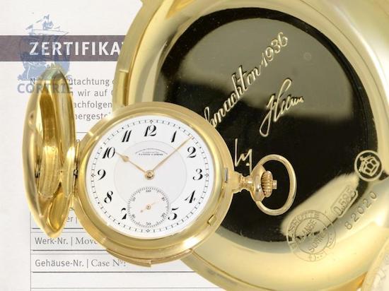 A. Lange & Sohne Hitler gift watch