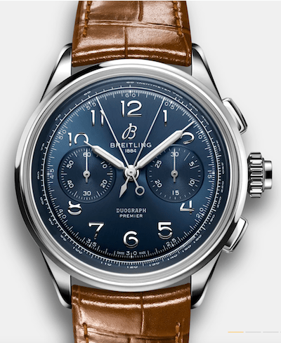 Breitling Premier Heritage Chronographs - B15 Duograph