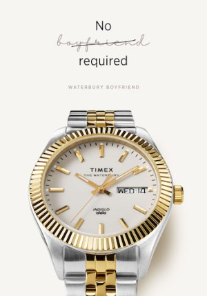 Timex Rolex closeup