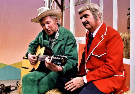 Mr. Green Jeans and Captain Kangaroo