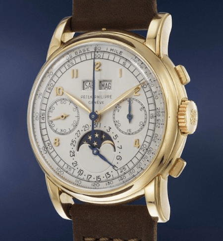 Patek Philippe Ref. 2499 yellow gold perpetual calendar chronograph
