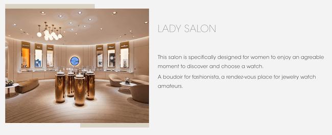Richemont TimeVallee Lady Salon