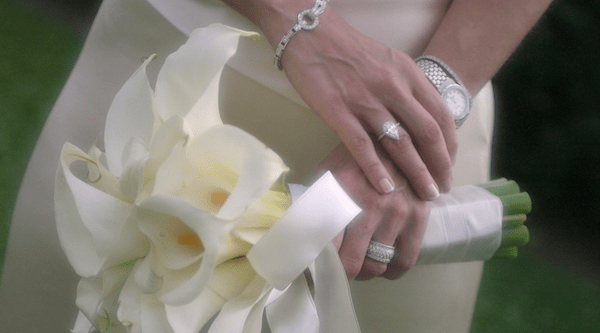 Engagement watch and ring
