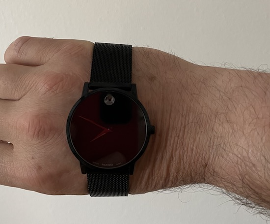 Movado Museum Watch hand