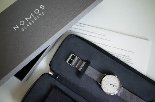 Box view of the Nomos Neomatik 41 Update