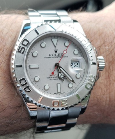 Rolex Yachtmaster serviced
