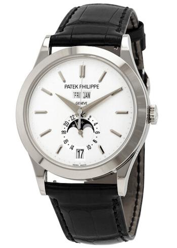 Grand Complications Silvery Opaline Men's Watch