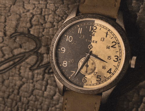 Timex x MadeWorn American Documents and leather