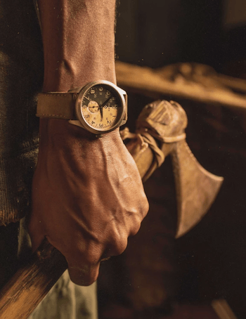 watch and axe