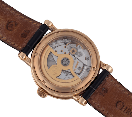 Chronoswiss - the mother of all exhibition cassbacks