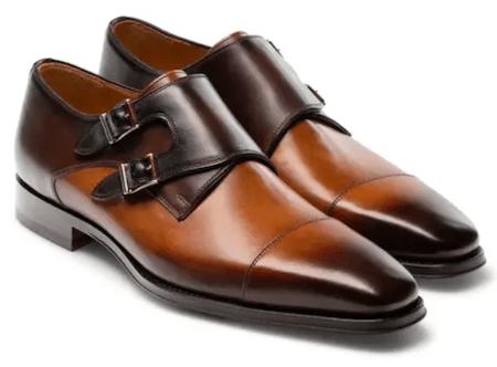 Magnanni Jaden Water Resistant Monk Shoe