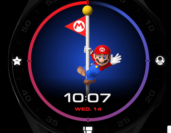 TAG Heuer Connected x Super Mario flag