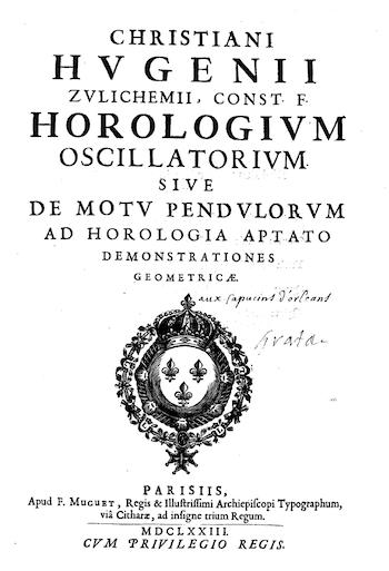 Huygens treatise