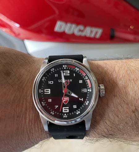 Locman Italy Herrenuhr Ducati money shot