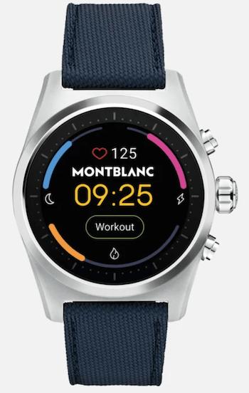 Montblanc Summit 2 luxury smartwatch
