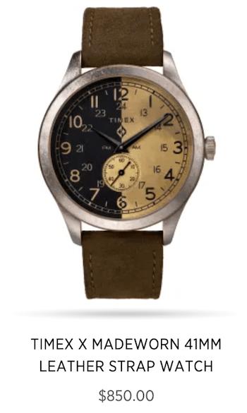 Timex Madeworn