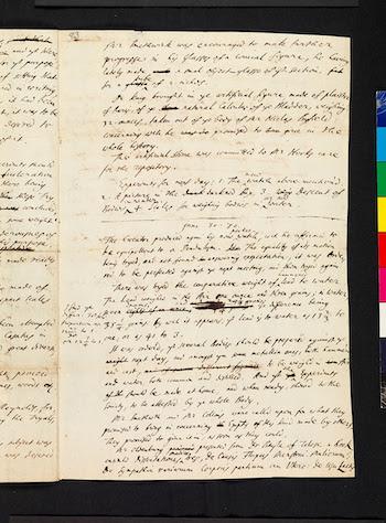 Royal Society's notes