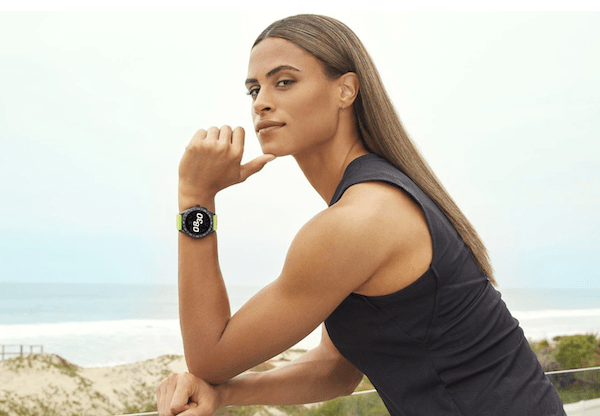 TAG Heuer Connected lime green band