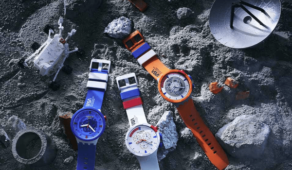 Swatch Bioceramic now in weird colors