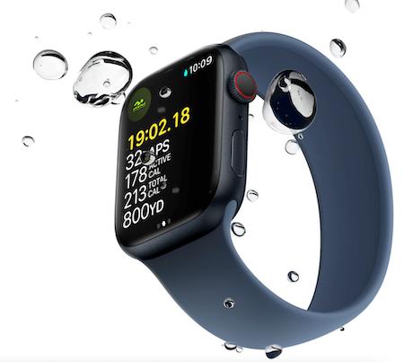 Apple Watch water resistance bubbles