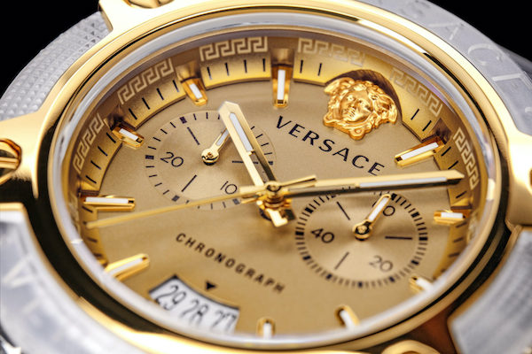 Versace watches Icon Active close up