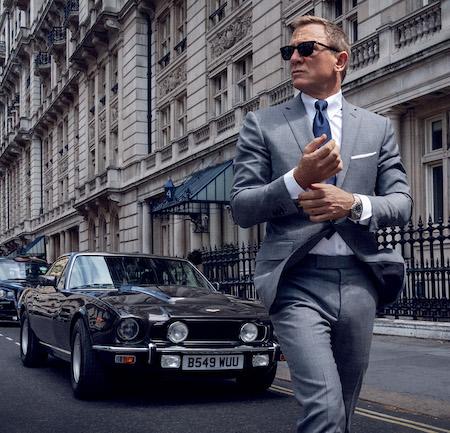No Time to Die James Bond's Apple Watch