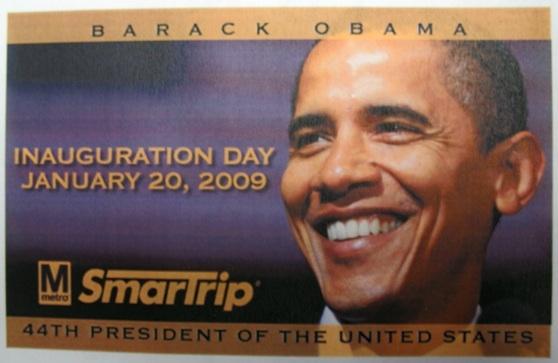 New SmartTrip Cards Have Obama Mugshot