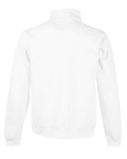Fruit Of The Loom Men's Premium Zip Neck Sweat
